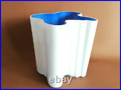 Aalto Vase Ultramarine Blue White Finland 100 Years Collection Iittala (NEW)