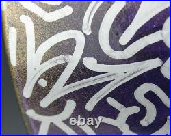 Angel Ortiz LA2 LA II NYC Graffiti Art Painting Vase Collaborator w Keith Haring