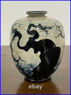 Early JOHN NYGREN Studio Art Glass 6 Vase Tree Branches
