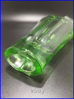 Fire And Light Glass Co. Aurora Vase Celery Green SIGNED Recycled Glass