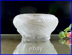 Gorgeous Large Lalique Hutan Vase NIB MSRP $1510 MINT, Signed, Authentic