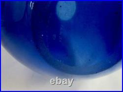 HOLMEGAARD PER LUTKEN'S FAMOUS DROP VASE SAPPHIRE BLUE 25cm 3 AVAILABLE