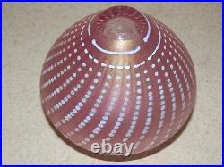 Kosta Boda Art Glass Sweden Artist Signed B. Vallien Numbered Vase 4 3/8