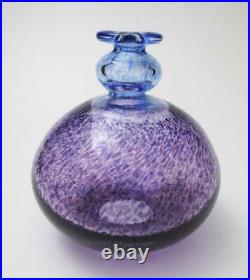 Kosta Boda Bertil Vallien Artist Collection Antikva Swedish Glass Vase Signed