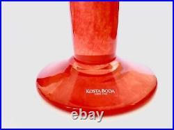 Kosta Boda Ulrika Hydman Open minds Glass Vase By From Sweden