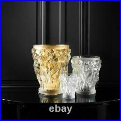 Lalique Bacchantes Vase Clear Crystal 1220000 New