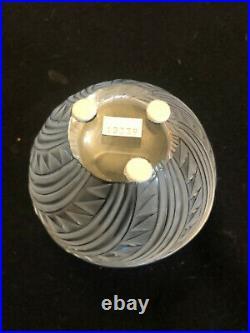Lalique Crystal Vase Zagora in the Original Box