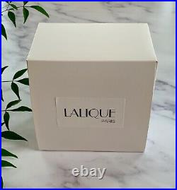 Lalique Deux Tulip (2 Tulips) Vase Mint Condition Signed & Authentic