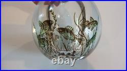 Mid-Century Orrefors Edward Hald FISHGRAAL Internally Decorated Vase