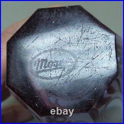 Moser Alexandrit / Alexandrite 5 Eternity Vase, Signed MOSER