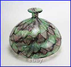 Murano Glass Vase Signed Venini Italia