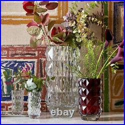 New Baccarat Crystal Louxor Round Vase Small #2813291 Brand Nib Clear Save$ F/sh