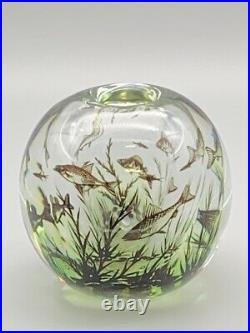 Orrefors Graal Fish Vase by Edward Hald 11049L EDWARD HALD