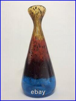 Rare Murano Glass Dino Martens Eldorado Vase Aureliano Toso