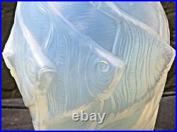 Rare Sabino Paris Art Deco Glass Fish Vase