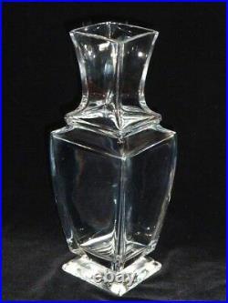 Retired Elegant Baccarat Crystal Vase, Pearl Pattern, 1 Owner, Purchased 1979