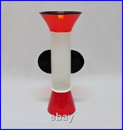 SERGIO ASTI/VISTOSI Large (18) Glass Sculpture - Sixties Collection Sottsass