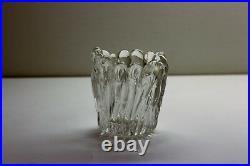 Tapio Wirkkala, unfinished glass sculpture, Lichen Finger Vase, Jakala, Iittala