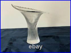 Tapio Wirkkalas Kantarelli Chantarelle Vase by Iittala Signed 44/1982 T W 1947