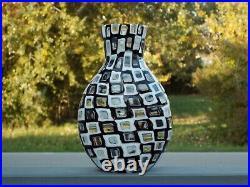 VENINI 1960 OCCHI by TOBIA SCARPA MURANO GLASS ACID SIGNED ca. 1960