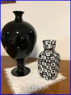 VENINI 1960 OCCHI by TOBIA SCARPA MURANO GLASS ACID SIGNED ca. 1960 Q