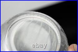 VINTAGE tapio wirkkala line cut crystal glass bud vase 1955 signed dated museum