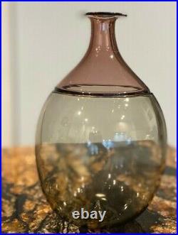 Venini Bolle Venini Vase Bolle 502.02 Bottle Bolle Tapio Wirkkala Signed