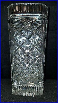 Waterford Crystal Vivaldi Four Seasons Vase etched signed by Jim O'Leary in 1996